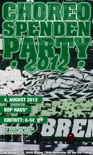 Choreo Spenden Party 2012